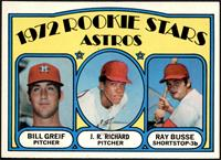 Rookie Stars Astros (Bill Greif, J.R. Richard, Ray Busse) [NM MT]