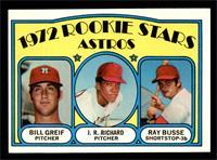 Rookie Stars Astros (Bill Greif, J.R. Richard, Ray Busse) [EXMT]