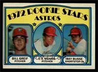 Rookie Stars Astros (Bill Greif, J.R. Richard, Ray Busse) [EX]