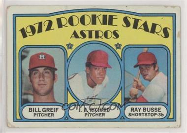 1972 Topps - [Base] #101 - Rookie Stars Astros (Bill Greif, J.R. Richard, Ray Busse) [PoortoFair]