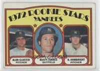 Rookie Stars Yankees (Al Closter, Rusty Torres, Roger Hambright) [Poorto&…
