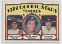 Rookie Stars Yankees (Al Closter, Rusty Torres, Roger Hambright)