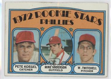 1972 Topps - [Base] #14 - Rookie Stars Phillies (Pete Koegel, Mike Anderson, Wayne Twitchell) [GoodtoVG‑EX]