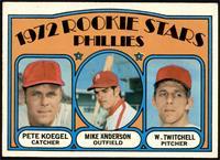 Rookie Stars Phillies (Pete Koegel, Mike Anderson, Wayne Twitchell) [VGEX…