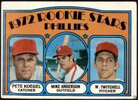 Rookie Stars Phillies (Pete Koegel, Mike Anderson, Wayne Twitchell) [FAIR]