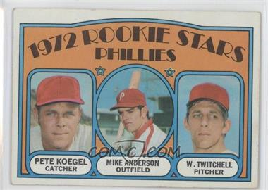 1972 Topps - [Base] #14 - Rookie Stars Phillies (Pete Koegel, Mike Anderson, Wayne Twitchell)