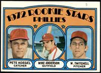Rookie Stars Phillies (Pete Koegel, Mike Anderson, Wayne Twitchell) [VGEX]
