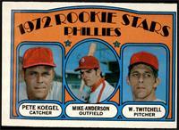 Rookie Stars Phillies (Pete Koegel, Mike Anderson, Wayne Twitchell) [GOOD]