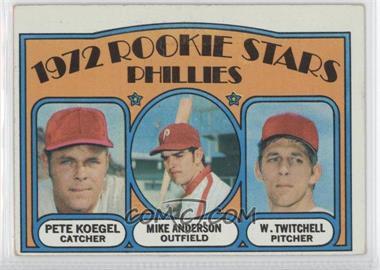 1972 Topps - [Base] #14 - Rookie Stars Phillies (Pete Koegel, Mike Anderson, Wayne Twitchell)
