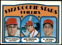 Rookie Stars Phillies (Pete Koegel, Mike Anderson, Wayne Twitchell) [EX]