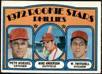 Rookie Stars Phillies (Pete Koegel, Mike Anderson, Wayne Twitchell) [VG]