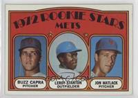 Rookie Stars Mets (Buzz Capra, Leroy Stanton, Jon Matlack)