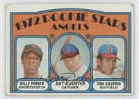 Rookie Stars Angels (Billy Parker, Art Kusnyer, Tom Silverio) [Good to&nbs…