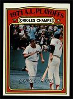 1971 A.L. Playoffs: Orioles Champs! [NMMT]