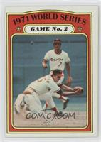 1971 World Series Game No. 2 (Dave Johnson, Mark Belanger)