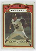 1971 World Series Game No. 5 (Nelson Briles) [Good to VG‑EX]