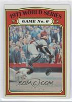 1971 World Series Game No. 6 (Frank Robinson)