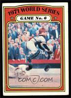 1971 World Series Game No. 6 (Frank Robinson) [VG]