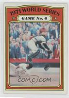 1971 World Series Game No. 6 (Frank Robinson) [NoneGoodtoVG&#…