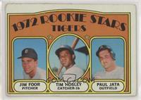 Rookie Stars Tigers (Jim Foor, Tim Hosley, Paul Jata) [GoodtoVGR…