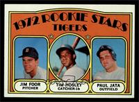 Rookie Stars Tigers (Jim Foor, Tim Hosley, Paul Jata) [NM]