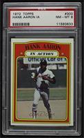 Hank Aaron (In Action) [PSA8NM‑MT]