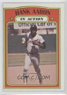 1972 Topps - [Base] #300 - Hank Aaron (In Action)