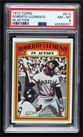 Roberto Clemente (In Action) [PSA 8 NM‑MT]