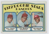 Rookie Stars Rangers (Bill Fahey, Jim Mason, Tom Ragland) [Good to VG…