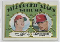 Rookie Stars White Sox (Don Eddy, Dave Lemonds)