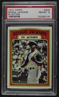 Reggie Jackson (In Action) [PSA8NM‑MT]
