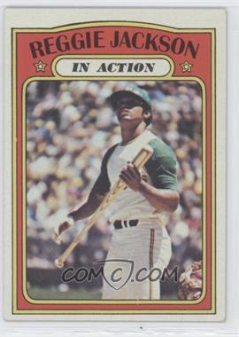 1972 Topps - [Base] #436 - Reggie Jackson (In Action)