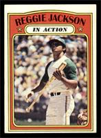 Reggie Jackson (In Action) [EX]