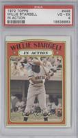 Willie Stargell (In Action) [PSA4]