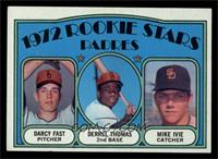 Rookie Stars Padres (Darcy Fast, Derrel Thomas, Mike Ivie) [EXMT]