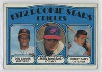 Rookie Stars Orioles (Don Baylor, Roric Harrison, Johnny Oates) [Poorto&n…