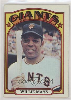 1972 Topps - [Base] #49 - Willie Mays [GoodtoVG‑EX]