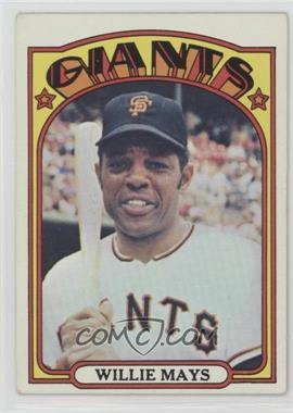 1972 Topps - [Base] #49 - Willie Mays