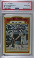Bud Harrelson (In Action) [PSA8NM‑MT]