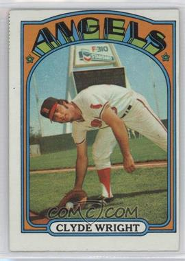 1972 Topps - [Base] #55 - Clyde Wright [Good to VG‑EX] - Courtesy of COMC.com