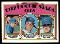 Rookie Stars Cubs (Burt Hooton, Gene Hiser, Earl Stephenson) [VGEX]