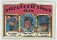 Rookie Stars Cubs (Burt Hooton, Gene Hiser, Earl Stephenson) [Good to …