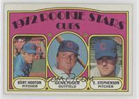 Rookie Stars Cubs (Burt Hooton, Gene Hiser, Earl Stephenson) [Poorto&nbsp…