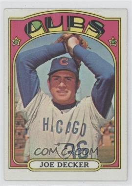 1972 Topps - [Base] #612 - Joe Decker