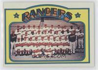High # - Texas Rangers Team