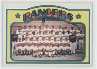 Texas Rangers Team [Good to VG‑EX]