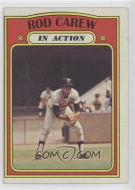 1972 Topps - [Base] #696 - Rod Carew (In Action) [Poor to Fair]