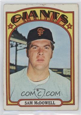 1972 Topps - [Base] #720 - High # - Sam McDowell [Poor]