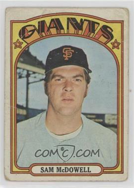 1972 Topps - [Base] #720 - Sam McDowell [Poor]