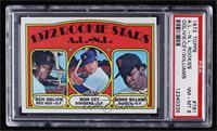 High # - Rookie Stars A.L.-N.L. (Ben Oglivie, Ron Cey, Bernie Williams) [PSA&nb…